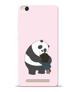 Panda Close Hug Redmi 3s Mobile Cover