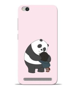 Panda Close Hug Redmi 5A Mobile Cover