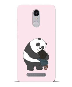 Panda Close Hug Redmi Note 3 Mobile Cover
