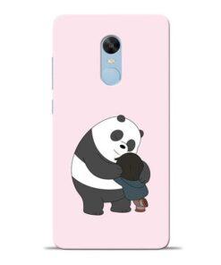 Panda Close Hug Redmi Note 4 Mobile Cover