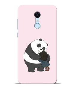 Panda Close Hug Redmi Note 5 Mobile Cover