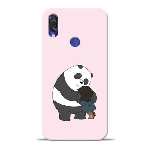 Panda Close Hug Redmi Note 7 Pro Mobile Cover