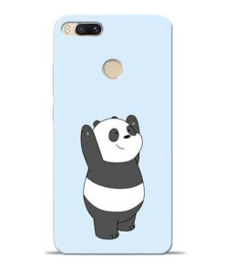 Panda Hands Up Mi A1 Mobile Cover