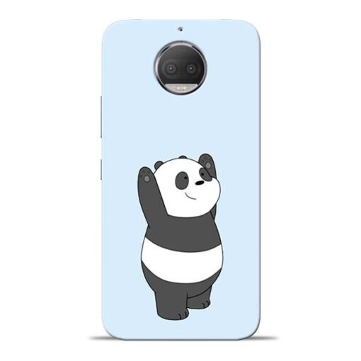 Panda Hands Up Moto G5s Plus Mobile Cover