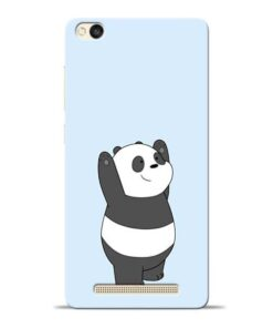 Panda Hands Up Redmi 3s Mobile Cover