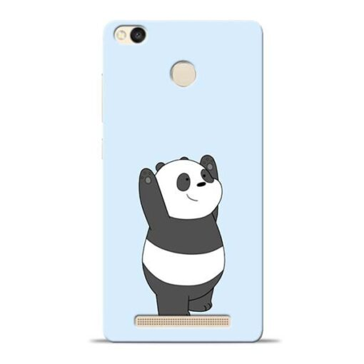 Panda Hands Up Redmi 3s Prime Mobile Cover