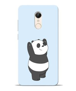 Panda Hands Up Redmi 5 Mobile Cover