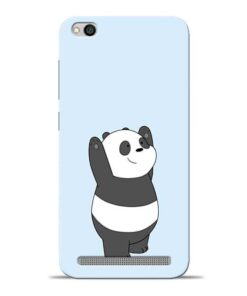 Panda Hands Up Redmi 5A Mobile Cover