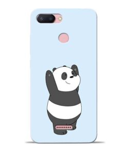 Panda Hands Up Redmi 6 Mobile Cover