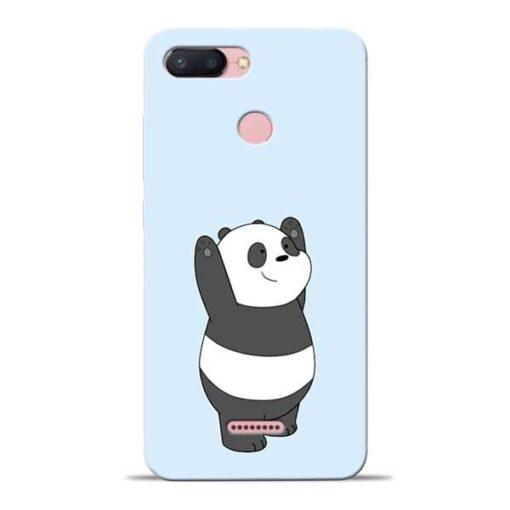 Panda Hands Up Redmi 6 Mobile Cover
