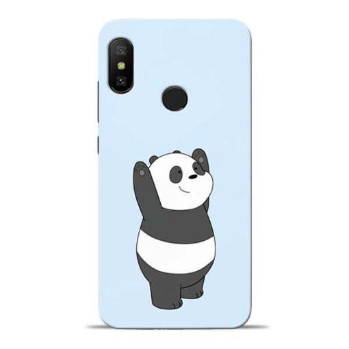 Panda Hands Up Redmi 6 Pro Mobile Cover