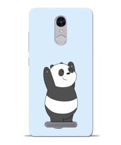 Panda Hands Up Redmi Note 3 Mobile Cover