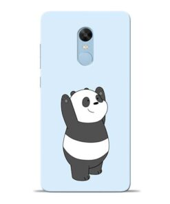 Panda Hands Up Redmi Note 4 Mobile Cover