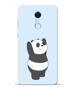 Panda Hands Up Redmi Note 5 Mobile Cover