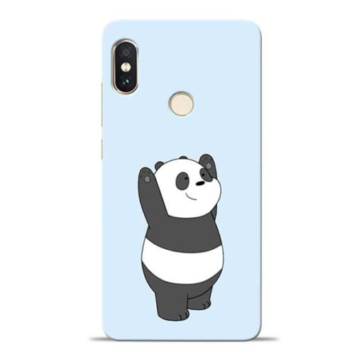 Panda Hands Up Redmi Note 5 Pro Mobile Cover