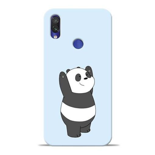 Panda Hands Up Redmi Note 7 Mobile Cover