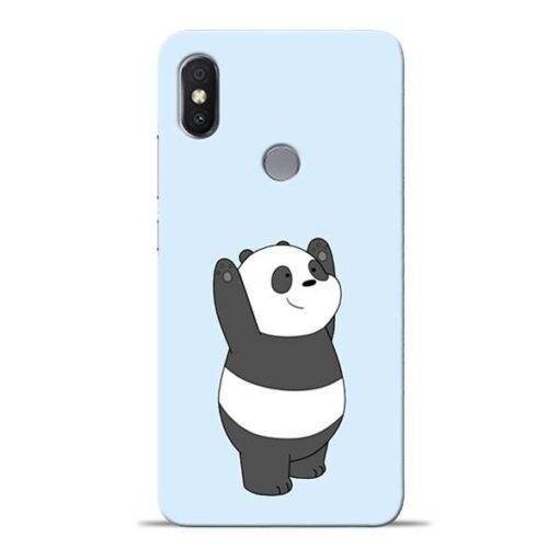 Panda Hands Up Redmi Y2 Mobile Cover