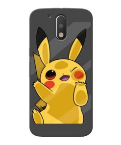 Pikachu Moto G4 Plus Mobile Cover