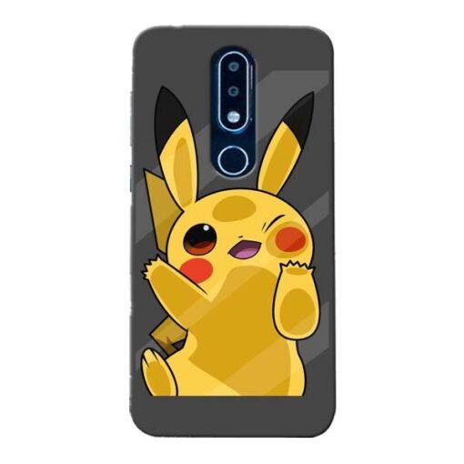 Pikachu Nokia 6.1 Plus Mobile Cover