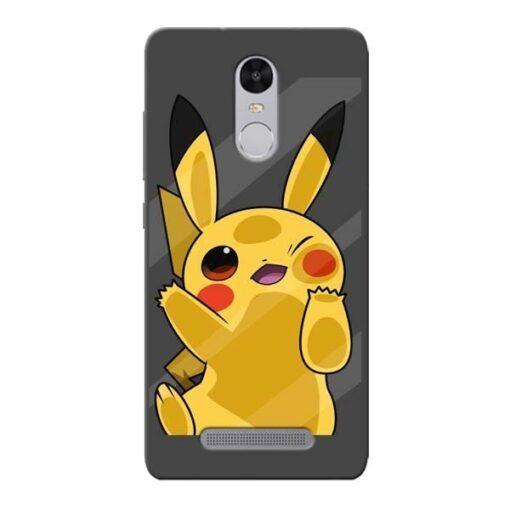 Pikachu Xiaomi Redmi Note 3 Mobile Cover