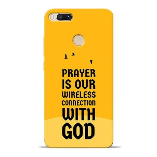 Prayer Is Over Mi A1 Mobile Cover
