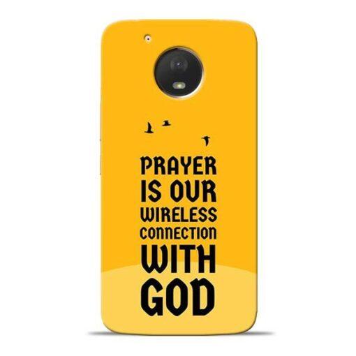 Prayer Is Over Moto E4 Plus Mobile Cover