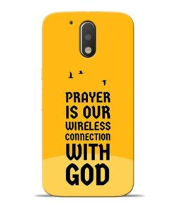Prayer Is Over Moto G4 Mobile Cover