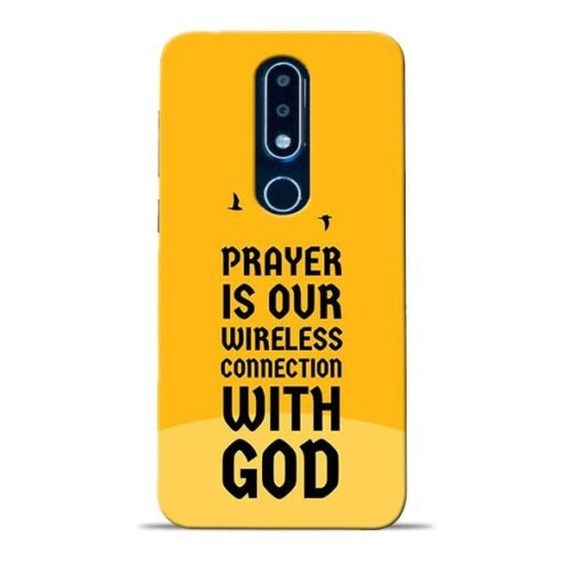 Prayer Is Over Nokia 6.1 Plus Mobile Cover