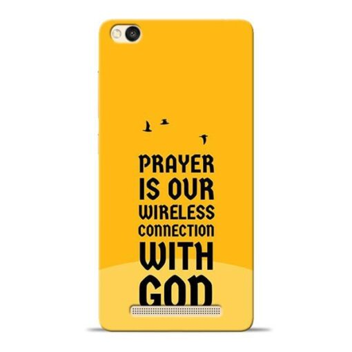 Prayer Is Over Redmi 3s Mobile Cover