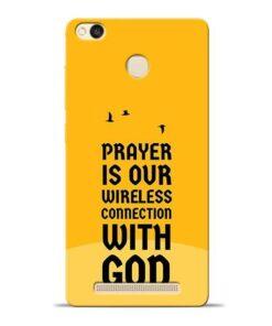 Prayer Is Over Redmi 3s Prime Mobile Cover
