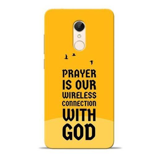 Prayer Is Over Redmi 5 Mobile Cover