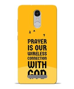 Prayer Is Over Redmi Note 3 Mobile Cover