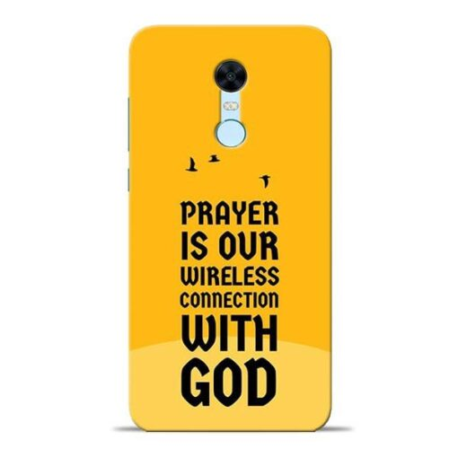 Prayer Is Over Redmi Note 5 Mobile Cover
