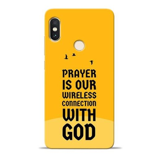 Prayer Is Over Redmi Note 5 Pro Mobile Cover