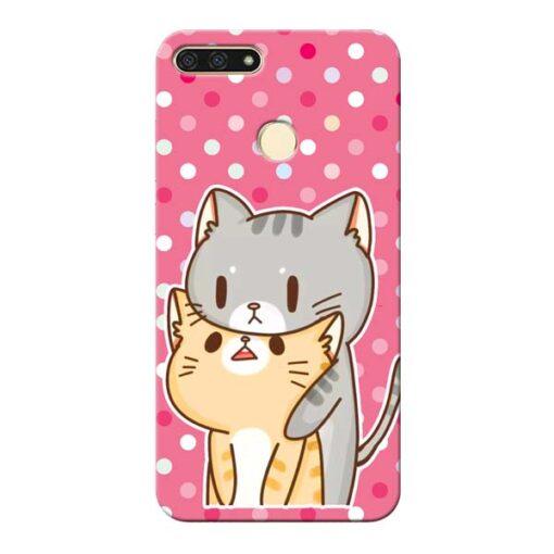 Pretty Cat Honor 7A Mobile Cover