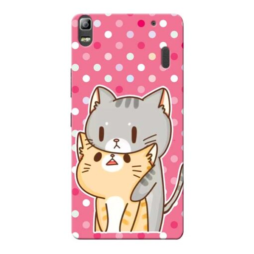 Pretty Cat Lenovo K3 Note Mobile Cover