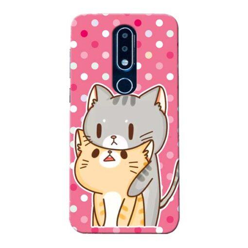 Pretty Cat Nokia 6.1 Plus Mobile Cover