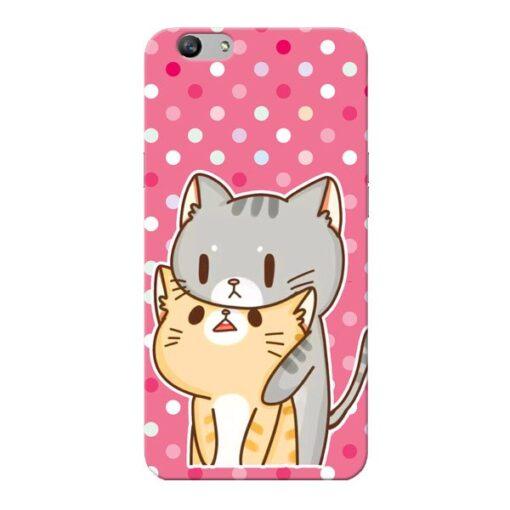 Pretty Cat Oppo F1s Mobile Cover