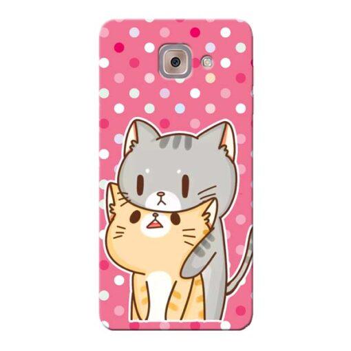 Pretty Cat Samsung Galaxy J7 Max Mobile Cover