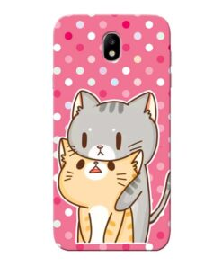 Pretty Cat Samsung Galaxy J7 Pro Mobile Cover
