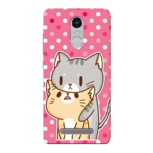 Pretty Cat Xiaomi Redmi Note 3 Mobile Cover