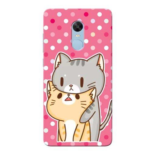 Pretty Cat Xiaomi Redmi Note 4 Mobile Cover