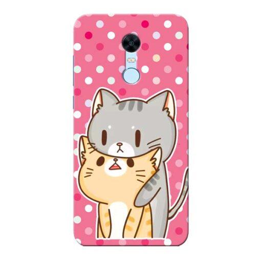 Pretty Cat Xiaomi Redmi Note 5 Mobile Cover