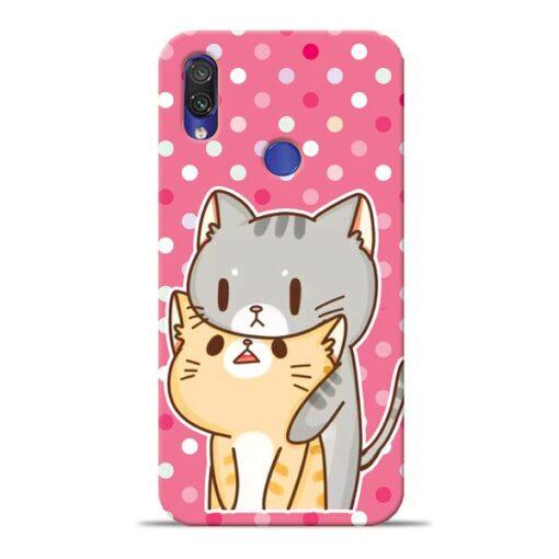 Pretty Cat Xiaomi Redmi Note 7 Pro Mobile Cover