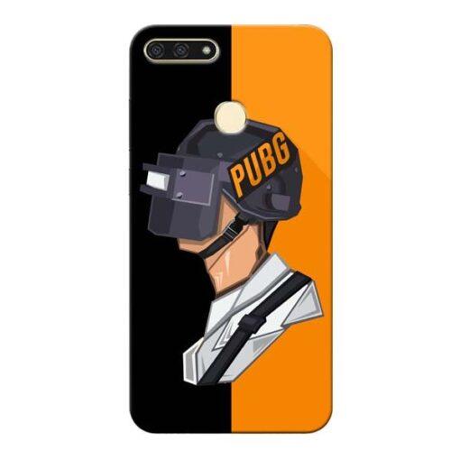 Pubg Cartoon Honor 7A Mobile Cover