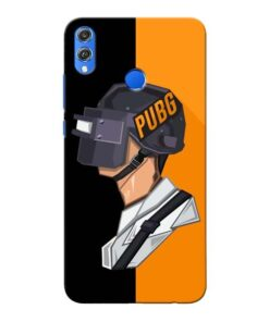 Pubg Cartoon Honor 8X Mobile Cover