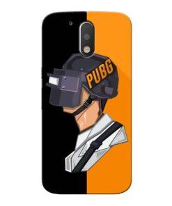 Pubg Cartoon Moto G4 Plus Mobile Cover