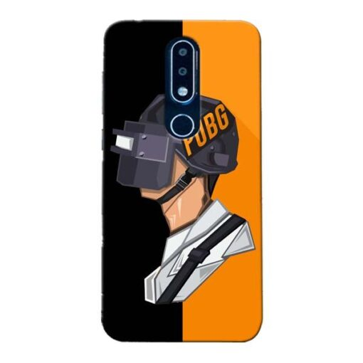 Pubg Cartoon Nokia 6.1 Plus Mobile Cover