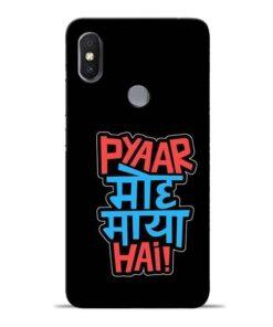 Pyar Moh Maya Hai Redmi S2 Mobile Cover