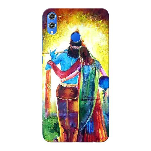 Radha Krishna Honor 8X Mobile Cover